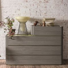 Contemporary wooden 'Flanny' chest of drawers. My Italian Living. Contemporary Furniture, Furniture Design, Dining, Living Room, Diy, Beautiful, Home Decor, Dinner, Bricolage