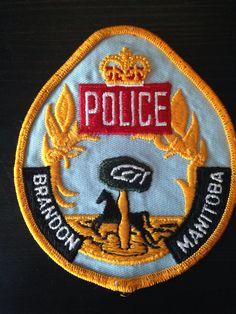 Brandon Police, Manitoba, Canada - Obsolete