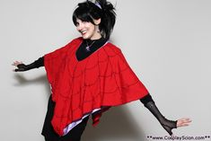 Lydia Deetz from Beetlejuice | 46 Awesome Costumes For Every Hair Color