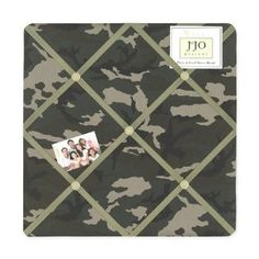 Camo Decor for a Military or Camouflage Bedroom