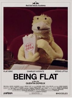 Picture of Being Flat All About Music, Tour Posters, Gifs, Music Images, Character Development, Electronic Music, Short Film, Puppets, Bunt