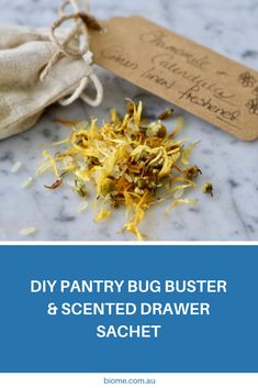 Freshen up cupboards and drawers and deter insects with our Pantry Bug Buster & Scented Drawer Sachets. Find the recipe and ingredients here. Pantry Moths, Green Cleaning Recipes, Recipe Using, Diy Recipe, Diy Cans, Scented Sachets, Bug, Diy Store, Pantry Design