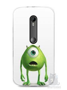 Capa Moto G3 Mike Wazowski Monstros S.A. - SmartCases - Acessórios para celulares e tablets :)
