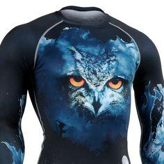 FIXGEAR CFL-S13 Compression Base Layer Shirt Workout Bodybuilding Sportswear Gym