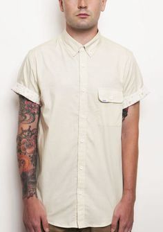"""Verano"" Shirt in Cream"