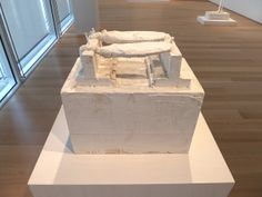 Cy Twombly sculptures at AIC | Flickr - Photo Sharing!