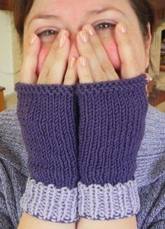 Fingerless Mittens from Madame Segneri Designs
