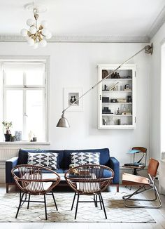 These Are the Coolest Swedish Home Tours We've Ever Seen via @MyDomaine