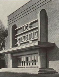 Nottingham's original Ice Stadium where Torvill and Dean started their Ice Dancing Careers- with a grant from Nottingham City Council.