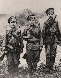 z- Boy Soldiers- Russian Army, WWI