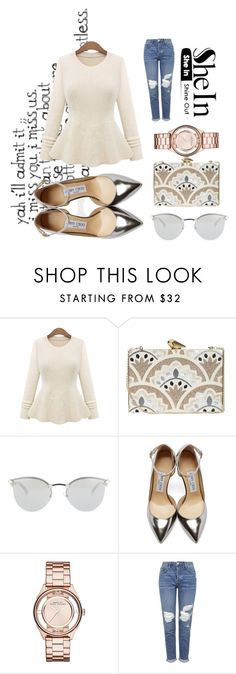 """""""Untitled #110"""" by maryam-hanif ❤ liked on Polyvore featuring KOTUR, Fendi, Jimmy Choo, Marc by Marc Jacobs and Topshop"""