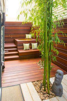 Sea Cliff SF - contemporary - Deck - San Francisco - Tamalpais Construction Company