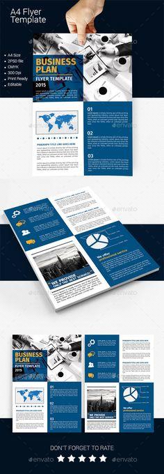 Annual report brochure flyer template, Orange cover design - annual report template word
