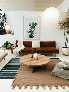 Like the mixed rug placement and the couch of course. Everything is low so its truly a chill spot