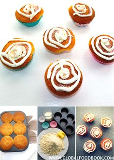 AWESOME Spongy Cupcakes