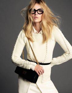 Elle Denmark Jan. 2013 ...  I love, love, love this sweater !!!! It's stunning !
