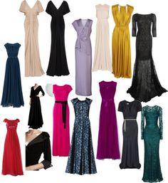 Black tie dress ideas