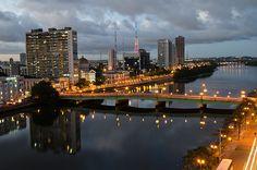 Ponte Princesa Isabel    Princesa Isabel Bridge (Recife, Brazil)