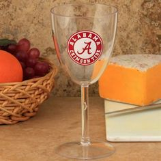 The best way to celebrate a Bama victory is to open up a bottle of wine. An even better way is to pour that wine into this 10oz plastic wine glass. Made of durable plastic, this stem glass features a vibrant team logo at the side so everyone can see your Tide spirit. Cheers to Bama memories! #UltimateTailgate #Fanatics