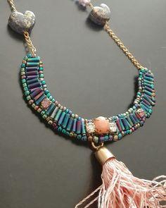 Luna • tassel necklace