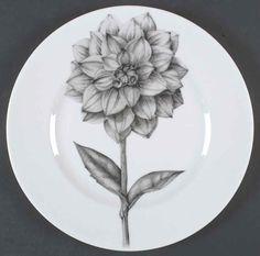 222 Fifth BOTANICA Dahlia Dinner Plate 4708750 #222Fifth