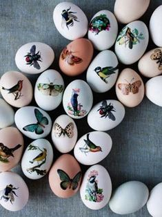 37 Adorable And Unexpected Easter Egg DIYs, Temporary Tattoo Easter Eggs ~ this is kinda cool. . . may try this
