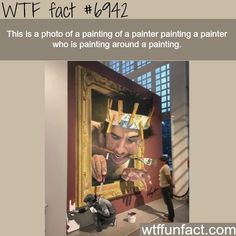 This painting will make your head hurt - WTF fun fact http://ibeebz.com