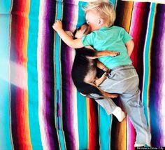 L'histoire magnifique de Beau (l'enfant) et Theo (le chien)