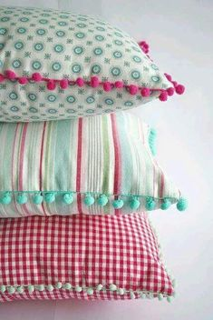Cushions for Making Magazine - DIY Decor Ideas Cushion Cover Designs, Cushion Covers, Pillow Covers, Baby Pillows, Throw Pillows, Sewing Pillows, How To Make Pillows, Scatter Cushions, Cute Cushions