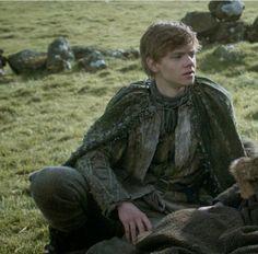 Thomas Brodie Sangster as Jojen Reed is n Game of Thrones