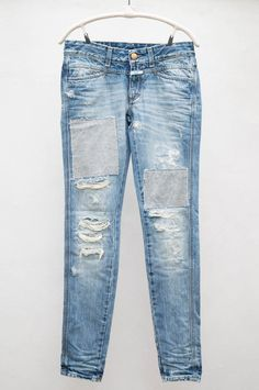 42ae9a8f055e dream jeans Ripped Jeans, Denim Jeans, Tomboy Fashion, Denim Outfit,  Boyfriend Jeans