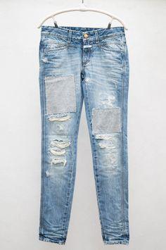 42ae9a8f055e dream jeans Ripped Jeans, Denim Jeans, Tomboy Fashion, Denim Outfit,  Boyfriend Jeans