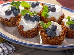 Granola Parfait Cups recipe from Nancy Fuller via Food Network