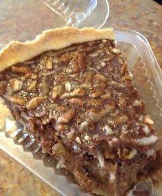 Chocolate Coconut Pecan Pie - Amish Recipes Oasis Newsfeatures