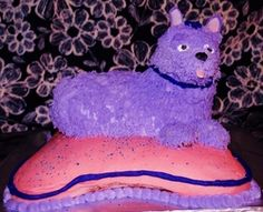 3D all buttercream dog cake made for Clara's last birthday to her color specifications.  They have little miniature schnauzers.