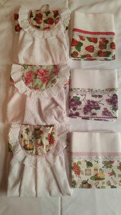 Atoalhado para secar mão com diversas estampas, tecido 100% algodão.