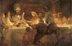 La conjuration de Claudius Civilis de Rembrandt, 1661-1662 - Stockholm, Académie royale de Beaux-Arts