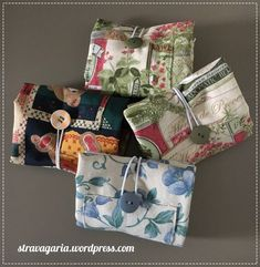 Sewing Patterns Free, Sewing Tutorials, Sewing Crafts, Sewing Projects, Scrap Busters, Bazaar Ideas, Idee Diy, Fabric Bags, Shopper Bag