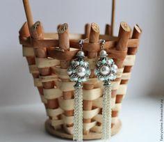 Entangling gyöngyök gyöngy Swarovski és cseh gyöngyök - Fair Masters - kézzel készített, kézzel készített