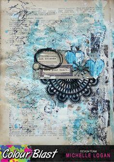 """Colour Blast: """"Friends"""" by Michelle Logan"""