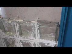 Instalación de Vidrio Block con Cemento - YouTube Google, Youtube, Flower, Glass Blocks, Cubes, Cement, Facades, Bathroom Remodeling, Bathroom