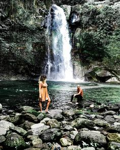 Creole Words, Good Vibes, Islands, Caribbean, Waterfall, Pictures, Travel, Outdoor, Instagram