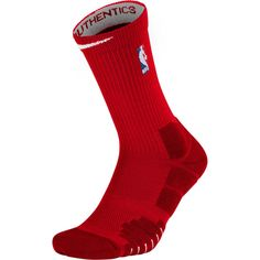 NBA Nike Elite Quick Crew Socks - Red Elevate your game by wearing these NBA Elite Quick Crew Socks. These Nike socks are perfect for game day or a pick-up game with friends. They feature the NBA logo and will effortlessly match your favorite team's gear. Nike Elites, Nba League, Socks For Sale, Nike Socks, Team Gear, Red Media, Funny Socks, Foot Locker, Nike Outfits