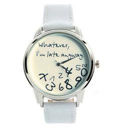 Horloge Whatever