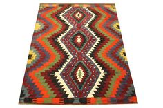 Oriental Turkish Kilim rug 95 x 62 Feet Ethnic by kilimwarehouse, $585.00