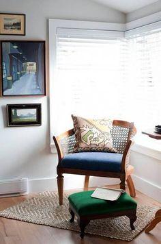 jillian harris corner with wicker chair