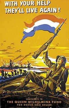 Dutch propaganda poster