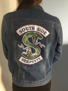 3d5450d1be Riverdale Southside Serpents Denim Jacket
