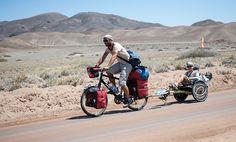 Unterwegs auf den staubigen Strassen Chiles.