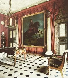 Geoffrey Bennison for Baron David de Rothschild's Paris apartment.